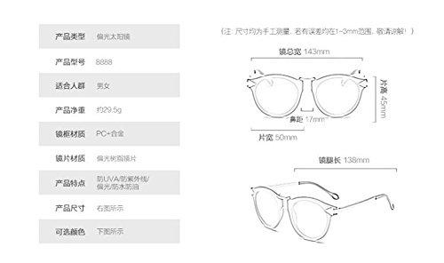 lunettes retro de soleil inspirées Blanc métallique vintage du style cercle polarisées Mercure rond Lennon en gTTarxn