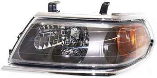 Crash Parts Plus Left Driver Side Headlight Head Lamp for 2000-2004 Mitsubishi Montero Sport