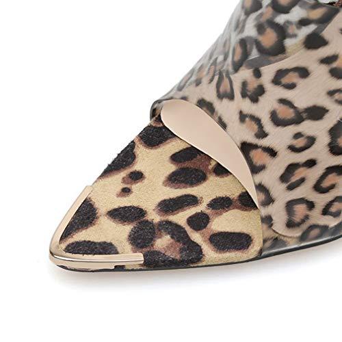 Haut Stiletto Sandales 40 Femmes Mode Super Pvc Transparent Talon 2019 A Pantoufles Yan a Nouveau Pointu Dames fzwZdEqfA