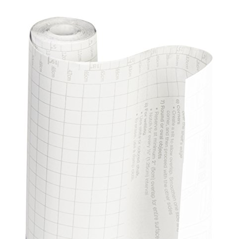 DAZZ 8607049 Clear Matte Adhesive Solid Shelf Liner (18 X 20 Sticks)