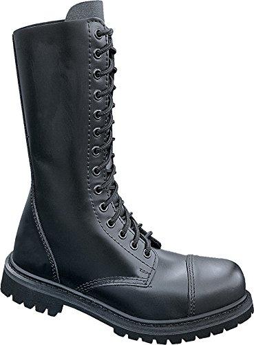Ranger Stahlkappe Stiefel Schuhe schwarz Leder Brandit Phantom Pwqt7xnfY5