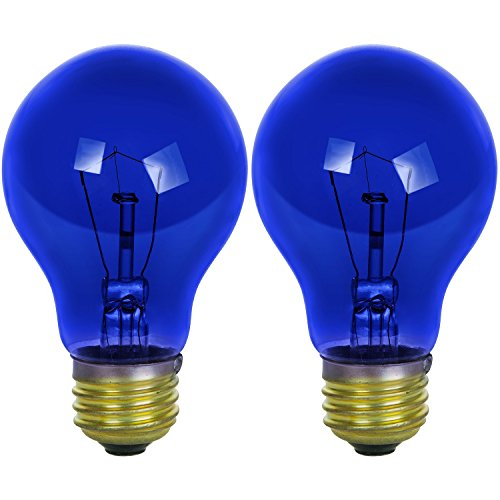bright blue light bulb - 2
