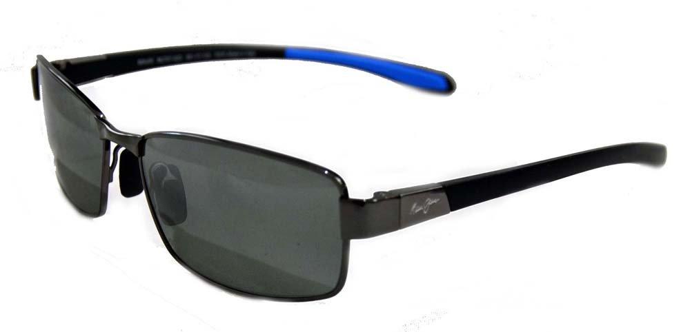 Maui Jim Kona Winds Polarized Sunglasses Gunmetal with Grey / Neutral Grey One Size