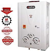 ACTIVA Aqua 100 Copper Tank Instant Gas LPG Water Heater Iv