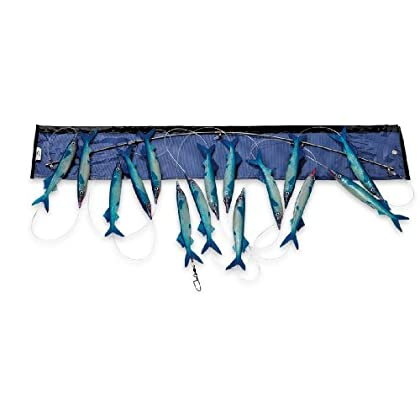 Image of Baits & Attractants Williamson Live Ballyhoo Spreader Bar (Blue)