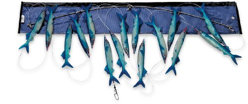 Williamson Live Ballyhoo Spreader Bar (Blue) - Fishing Spreader Bars