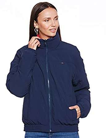Tommy Hilfiger Reversible Zip Up Jacket for women in Multicolored, Size:XL