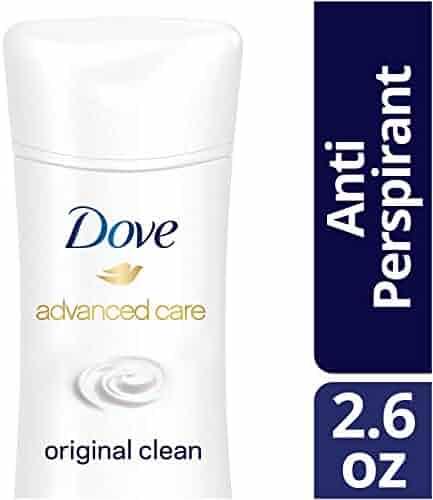 Dove Advanced Care Antiperspirant Deodorant, Original Clean, 2.6 oz