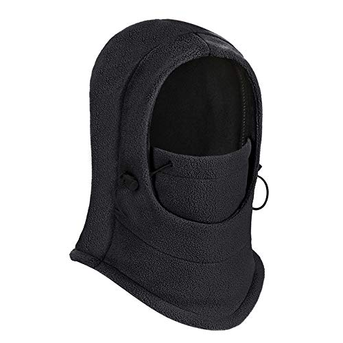 7481b96bfb6 GUSTAVE New Men and Women Winter Warm Full Face Cover Winter Ski Mask Cat  Hat (Black)  Amazon.in  Clothing   Accessories