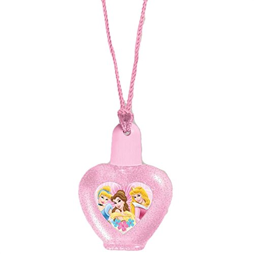 Disney Princess Bubble Necklace Birthday Party Accessory Favour (1 Piece), Pink, 2