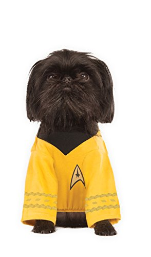 Star Trek Spock Dog Costume (Star Trek Captain Kirk Dog Costume)