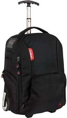 De nido de Athena A90 negro - mochila con ruedas de funda/bolsa ...
