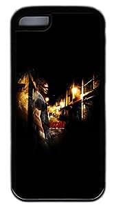 iPhone 5C Case,Customize Ultra Slim Dexter Soft Rubber TPU Black Case Bumper Cover for iPhone 5C