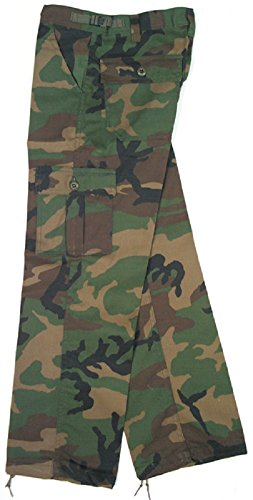 6 Pocket Camo Pants - 6