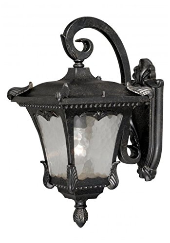 """Vaxcel T0156 One Light Outdoor Wall Sconce, 8-5/8"""" Weathered Bronze Finish"""