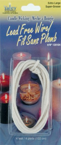 Candle Wicking Zinc Core Wire-Extra Large 4'