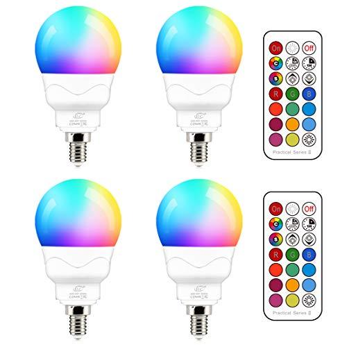 5W Led Rgb Color Changing Light Bulb
