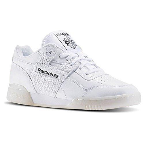 Reebok Workout Plus Id Uomo Sneaker Bianco blanco