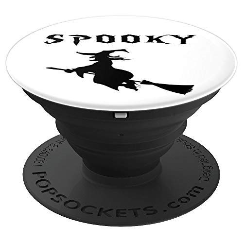 Spooky Holiday Witch Halloween T-shirt Bruja - PopSockets