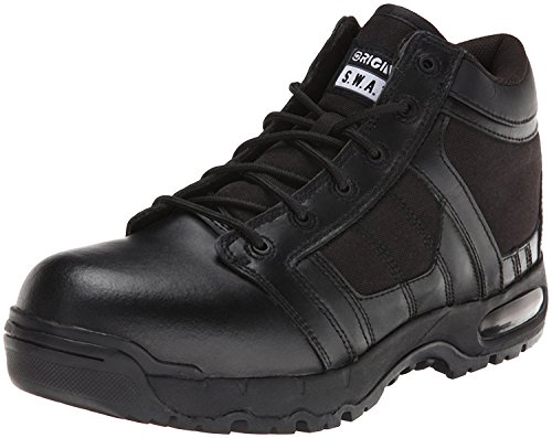 Original S.W.A.T. Men's Metro Air 5 Inch Side-zip Safety Tactical Boot, Black, 11.5 2E US by Original S.W.A.T.