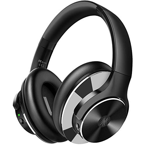 Cheap OneOdio Bluetooth Over Ear Headphones with 40H Playtime Active Noise Cancelling Wireless Stereo Headsets with Hi-Fi Sound Quick Charge Protein Earpads for Travel Airplane Laptop inexpensive bluetooth headphones