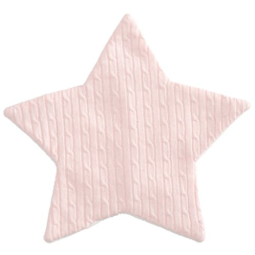 Elegant Baby Cable - Elegant Baby Cable Star Blankie - 12x12, One Size, Pink