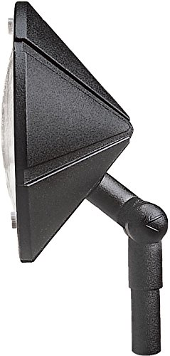 (Kichler 15361BKT Six Groove Wall Wash 1-Light 12V, Textured Black)