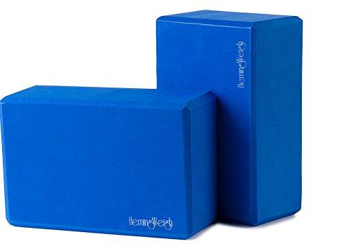 Set of 2 HemingWeigh Durable Yoga Blocks