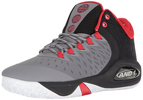 Image of AND1 Men's Attack Mid Basketball Shoe