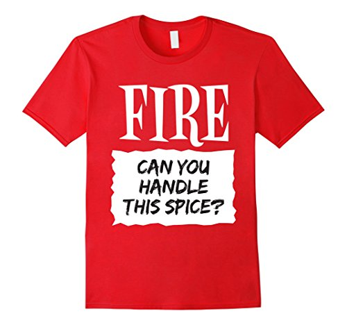 [Mens Fire Shirt Hot Sauce Packet Taco Easy Halloween Costume XL Red] (Quick Costume Ideas For Males)