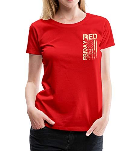 RED Fridays Remember Everyone Deployed Womens Premium T-Shirt
