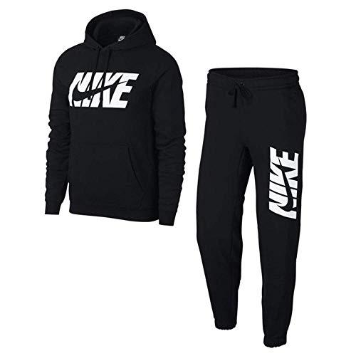 Black Uomo Nsw Nike Suit Ce Gx Flc Tuta M Trk SzwqSB8