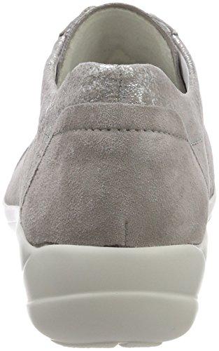 para Perle Mujer Cordones Semler Birgit Zapatos de Derby Grau q8aSxXZw