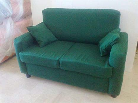Divano 2 POSTI in Tessuto Poltrona Relax DIVANETTO Sofa: Amazon.it ...