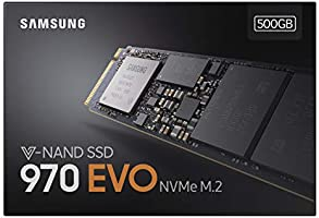 Samsung 970 EVO 500 GB V-NAND M.2 PCI Express Solid State Drive - Black