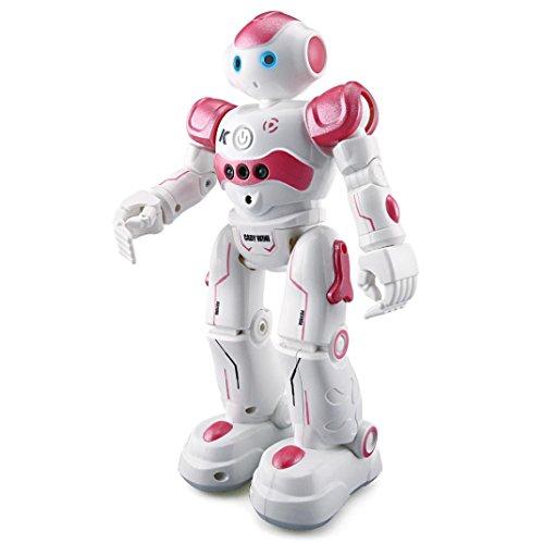 New launch RC Distant Management Robotic, COOL99 Sensible Motion Stroll Dancing Gesture Sensor Children Toy Present RC Robotic Purple  Critiques