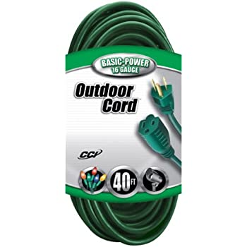 prime wire cable ec880625 25 foot 16 3 sjtw lawn and garden outdoor extension cord green. Black Bedroom Furniture Sets. Home Design Ideas