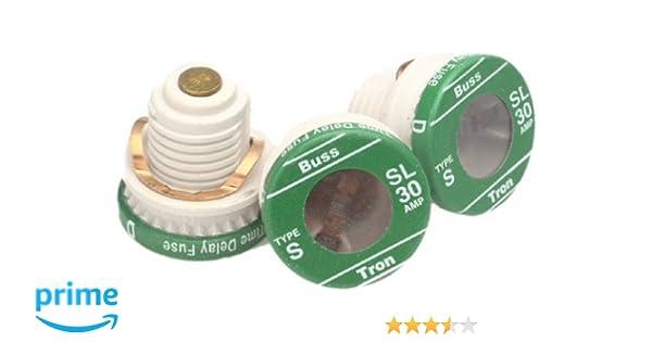 COOPER BUSSMANN BP-TL-30 3PK 30A TL Plug Fuse