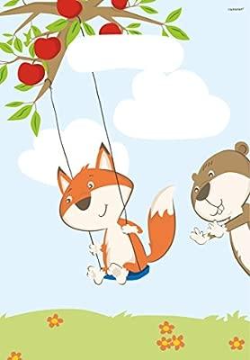 Amscan 8 bolsas de fiesta * Fox & Beaver * para una fiesta ...