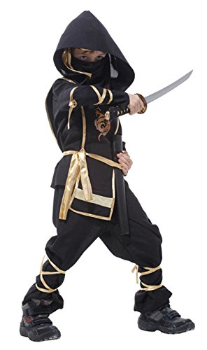 India Costume For Boy (Betusline Kids Unisex Boys Toddler Ninja Costume Halloween Cosplay Clothing)