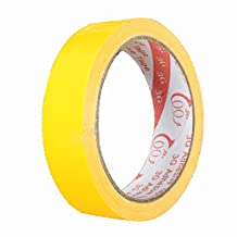 SODIAL(R) Adhesive tape Waterproof Adhesive Cloth Tape for footwear sealing Duct Color:yellow Size:50Mm X 10M
