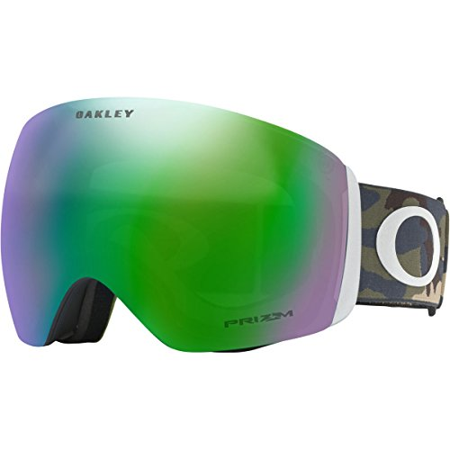 Oakley Flight Deck Asian Fit Snow Goggles, Army/Camo, - For Military Oakleys