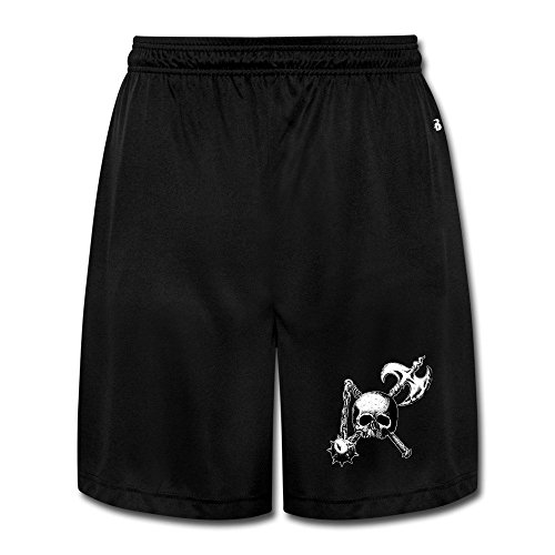 Casual Black Label Society Heavy Metal Band Poster Men M Short Pants (Label Society Poster)