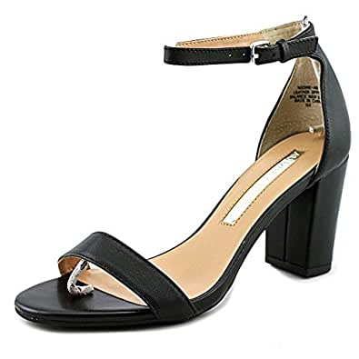 Amazon.com: Audrey Brooke Nadine Open Toe Leather Sandals: Shoes