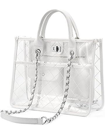 a6543dde984 LOVEVOOK Transparent Bags for Women Handbag Clear Bag Stylish