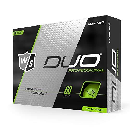 Wilson Staff Duo Pro Golf Ball, Matte -