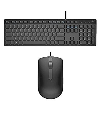 Amazon In Buy Dell Usb Wired Keyboard Mouse Combo Black Kb216
