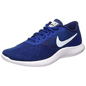Nike Men's Flex Contact Running Shoe, Running, Blue/ White, 11 US M