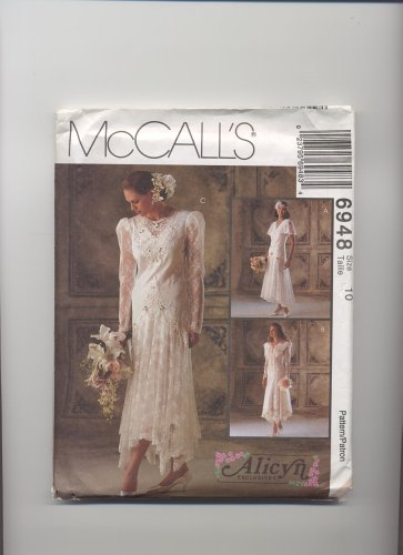 Mccalls Patterns Bridesmaid - McCall's Pattern #6948 - Bridal Gowns, Bridesmaids' Dresses
