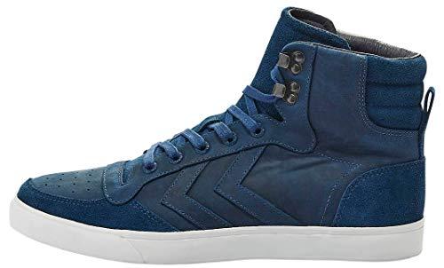 Bourdons Unisexe Adulte Stadil Hiver Bleu Haute Sneaker (sarcelle Aile Bleue 1107)